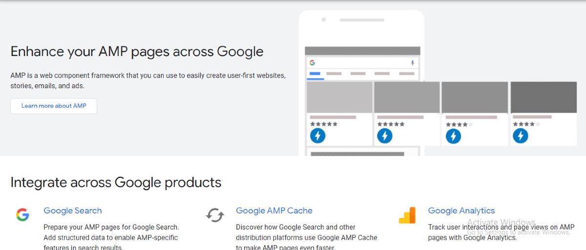 Google AMP Support