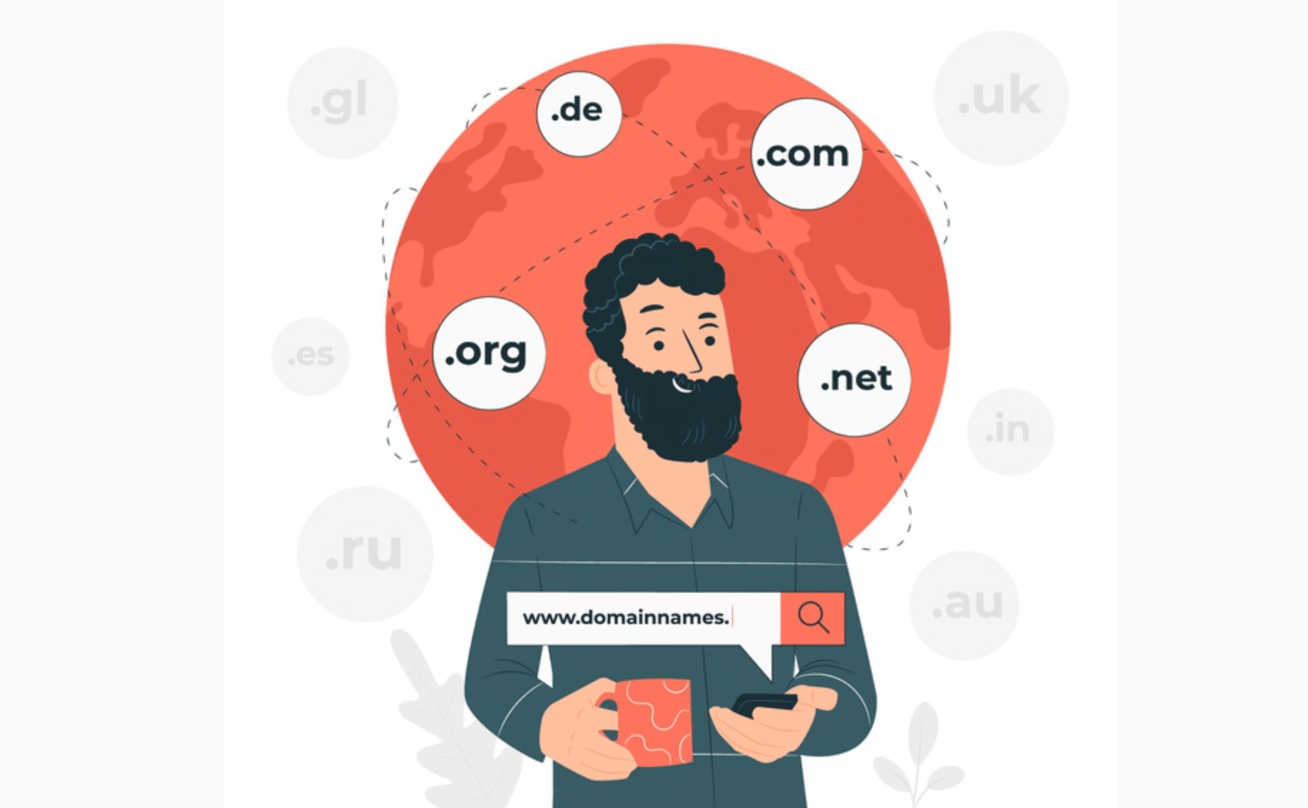 Choose your website domain name