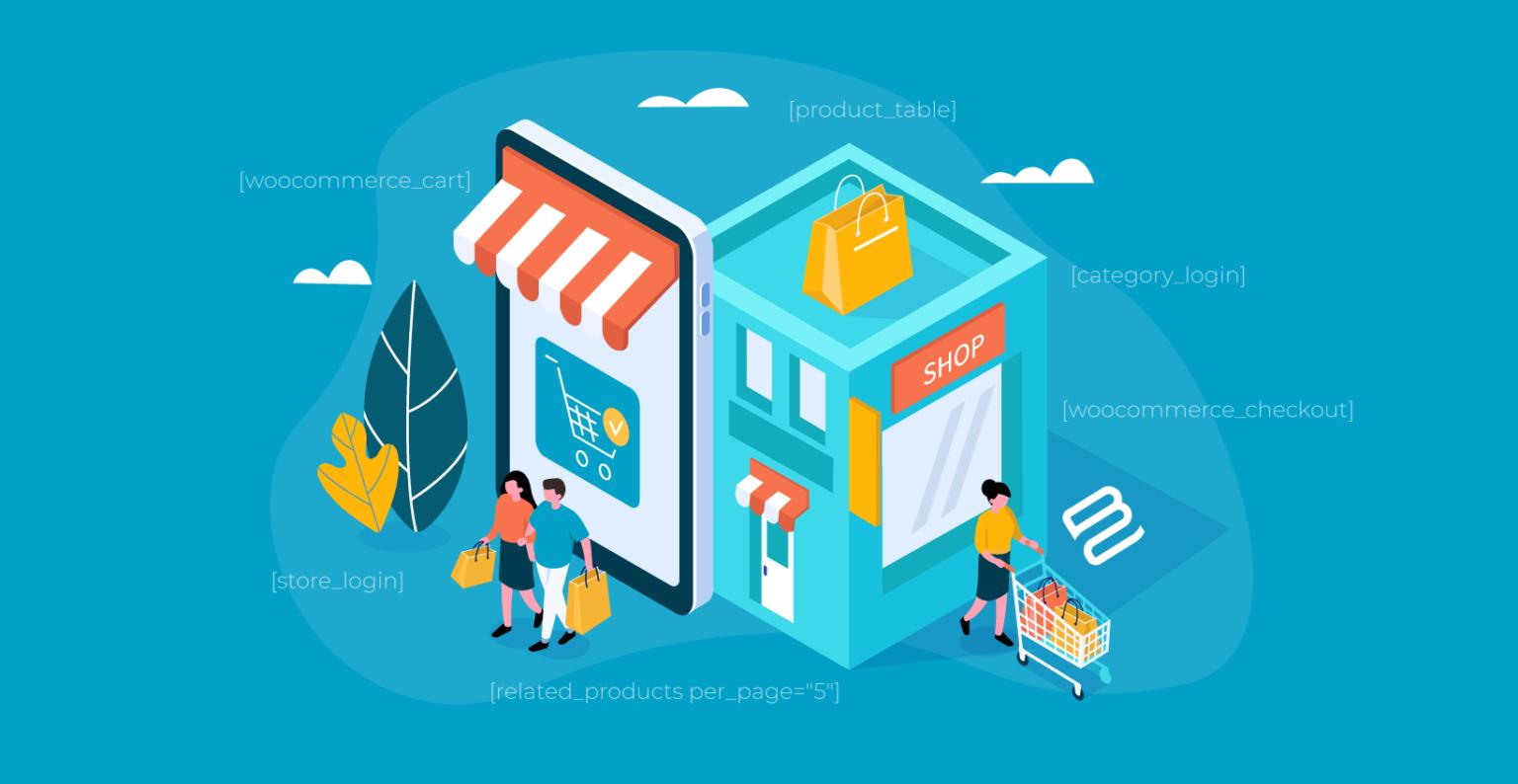 How do WooCommerce shortcodes work?