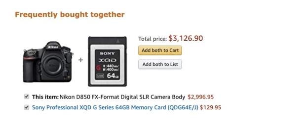Amazon making product suggestions