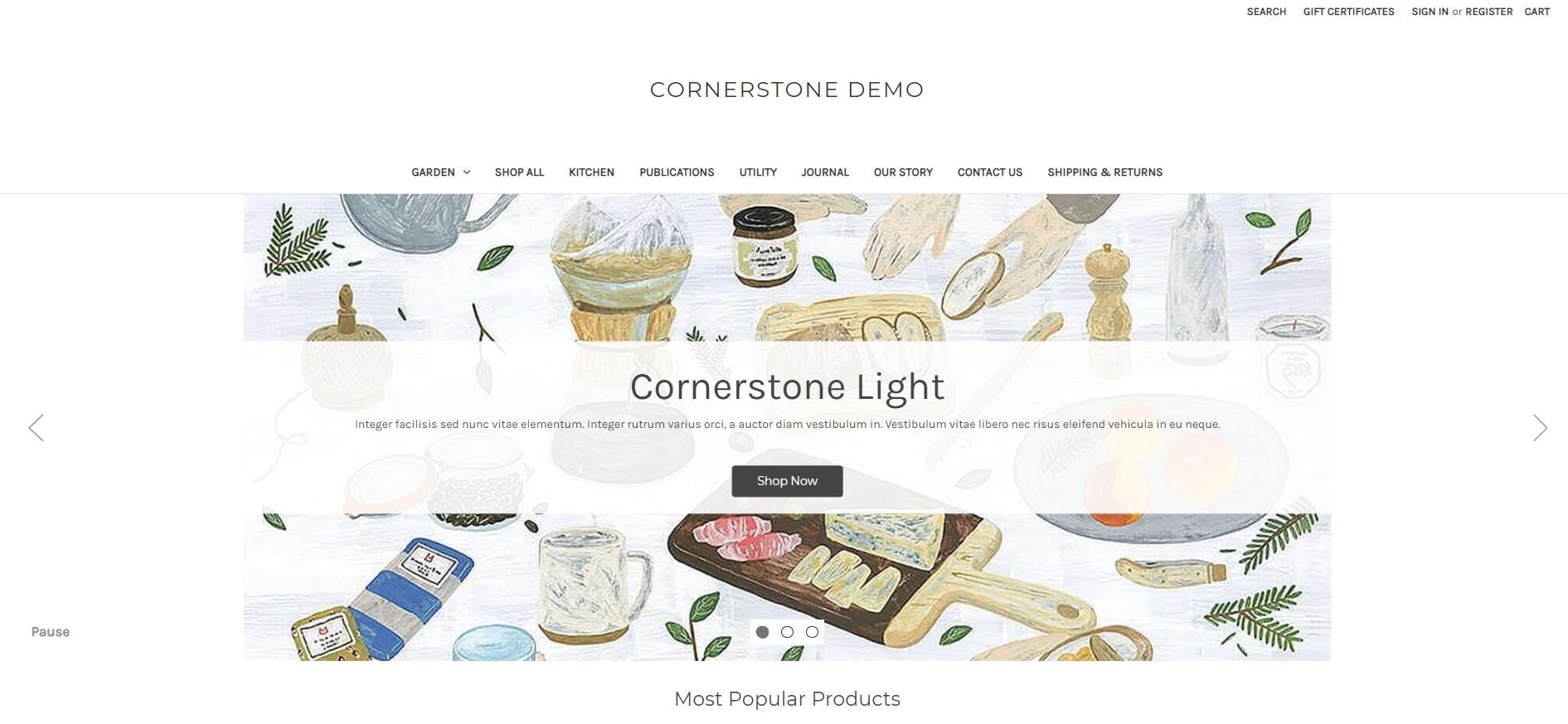 Cornerstone Light