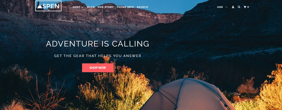 Shopify Parallax Theme Review: Striking Parallax Effect for Your Store