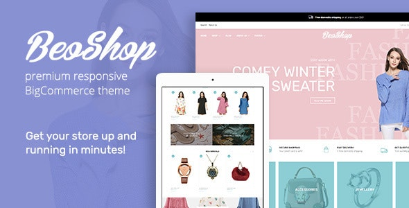 BeoShop BigCommerce Theme preview Source: BeoCode