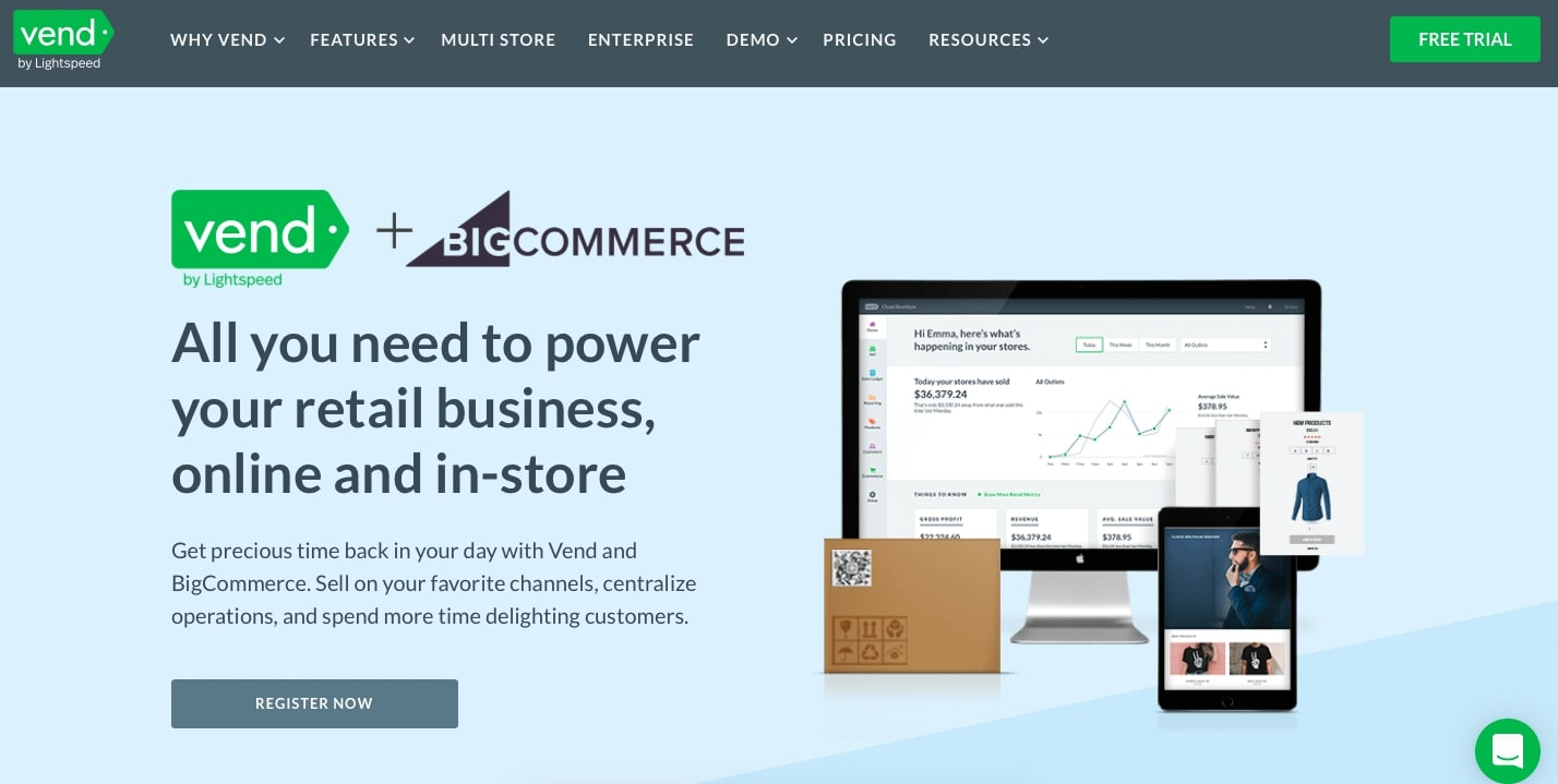 Why you need a Vend POS integration in BigCommerce