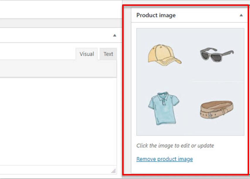 Upload images and choose categories