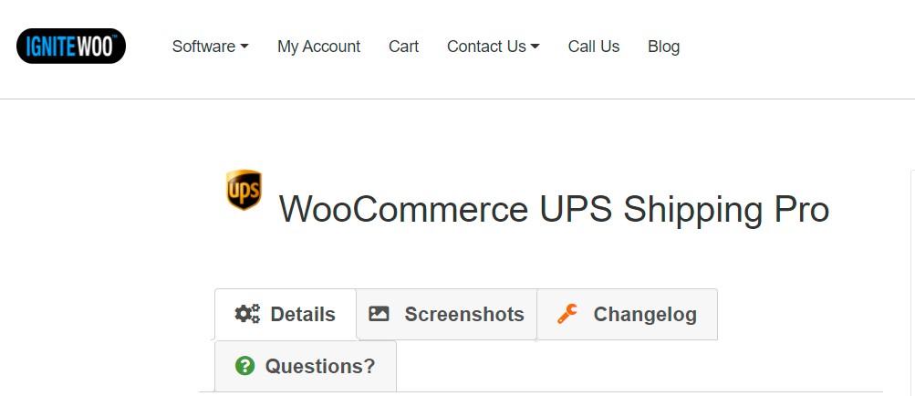 WooCommerce UPS Shipping Pro