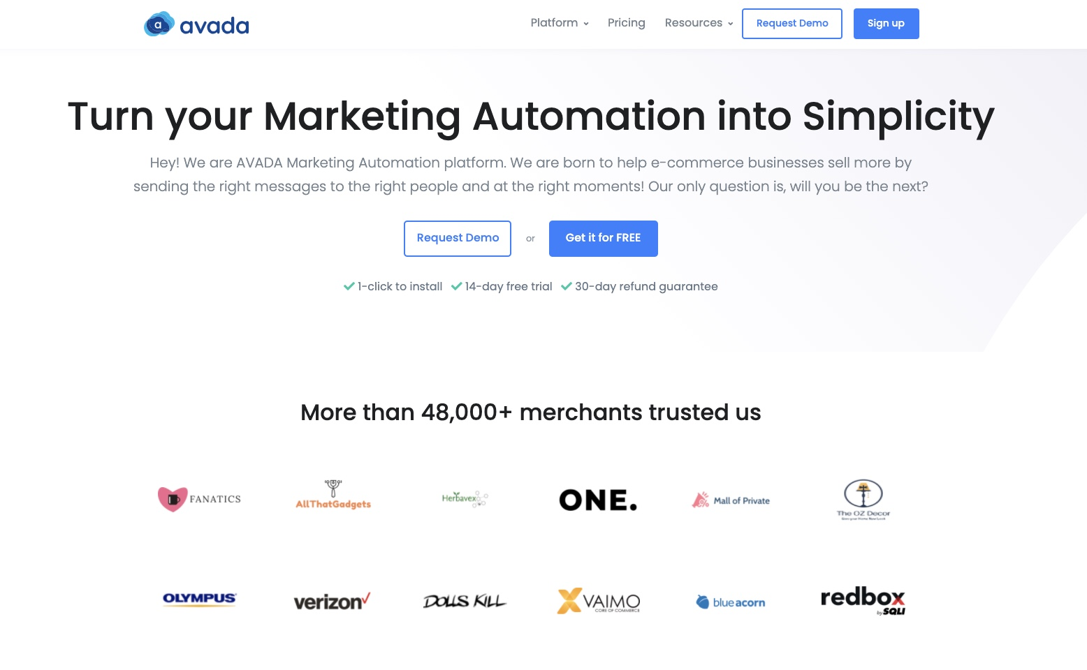 Make your email marketing layout design easy with AVADA Marketing Automation