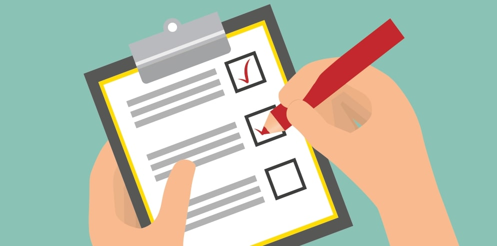 What is an email checklist?