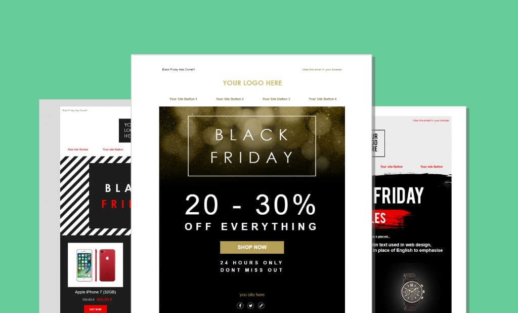 Designing Your Black Friday Email