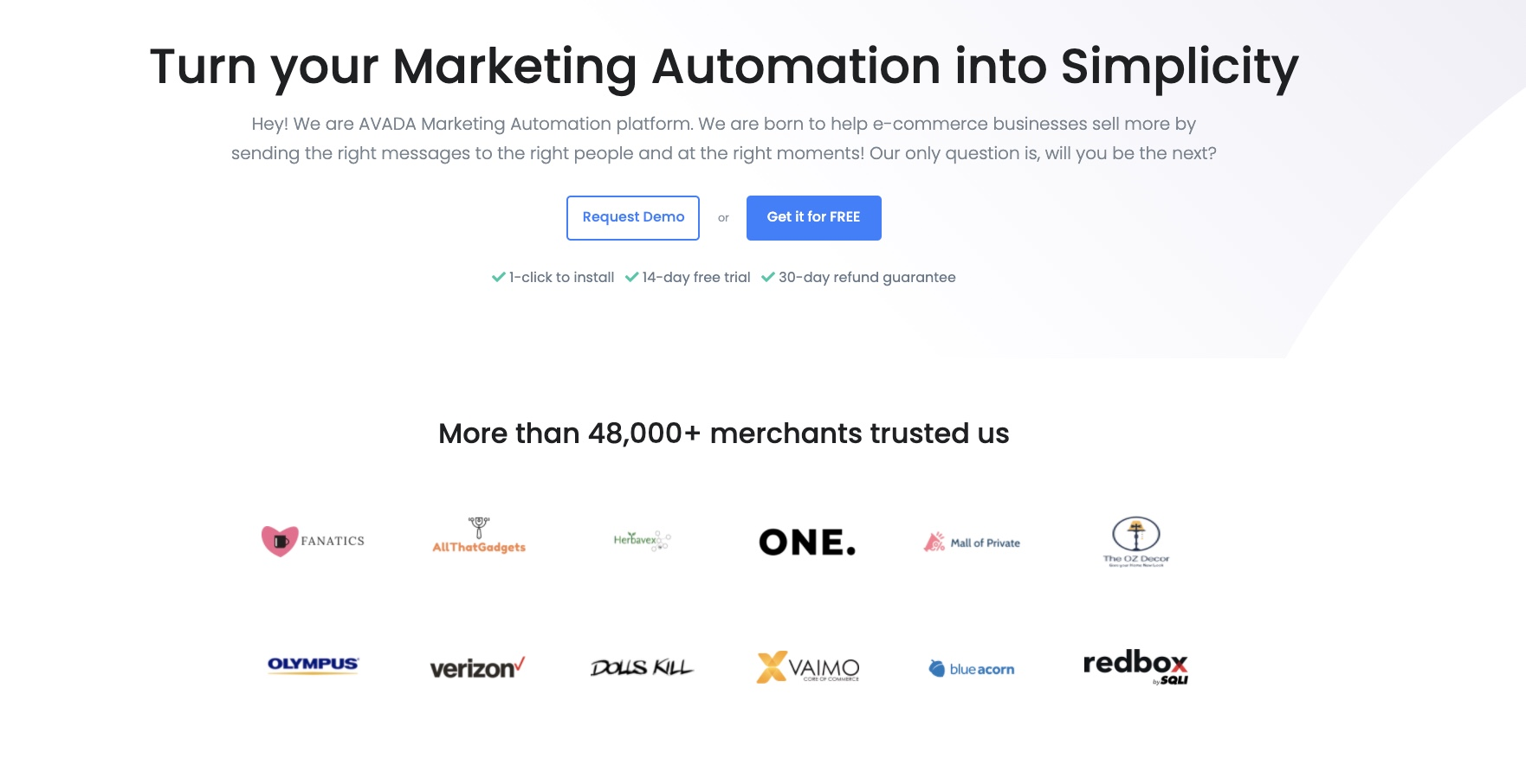 AVADA Email Marketing Automation
