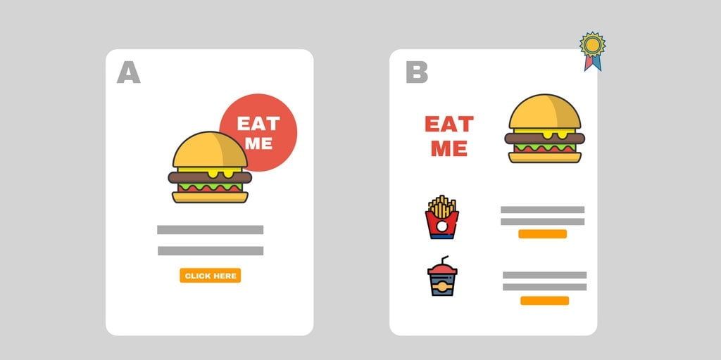 What elements can you do A/B testing on?