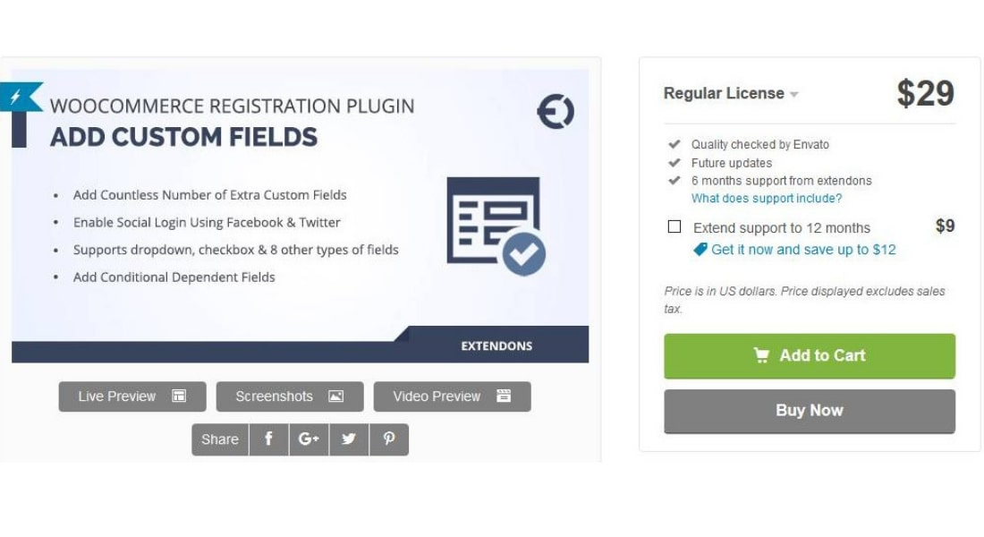 WooCommerce Registration by Extendons