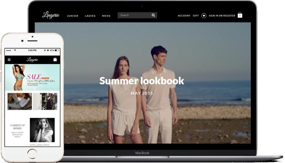 What is the BigCommerce theme?