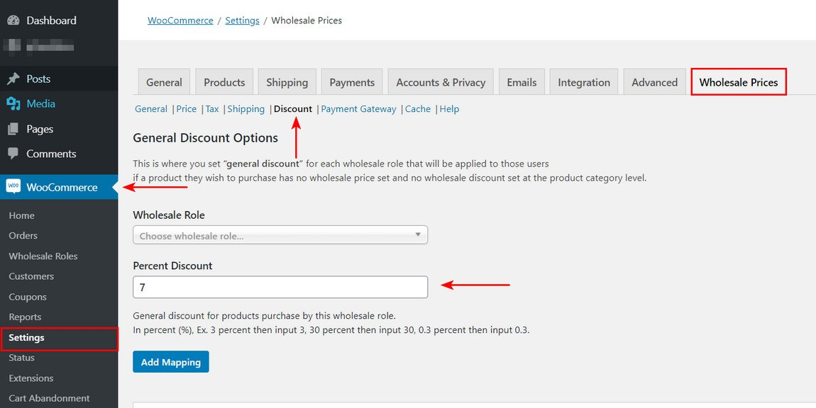 Create pricings and quantity of products
