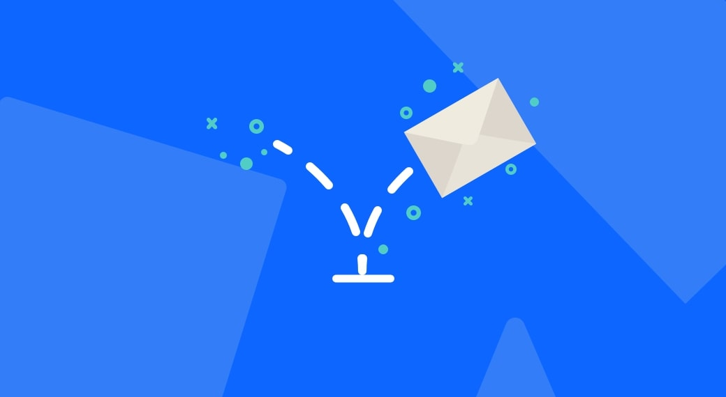 What does an email bounce mean?