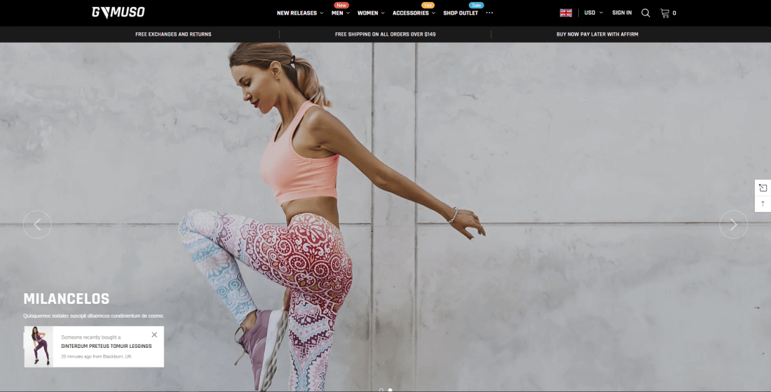 Shopify Fitness & Gym Themes