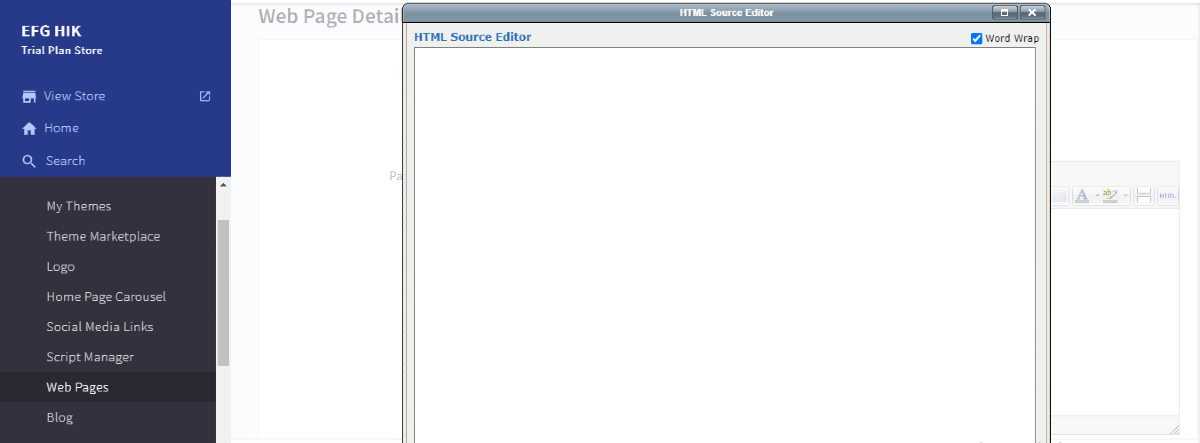 Embed HTML codes