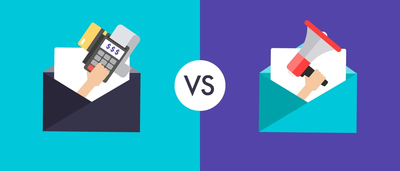 What are the differences between transactional and marketing emails?