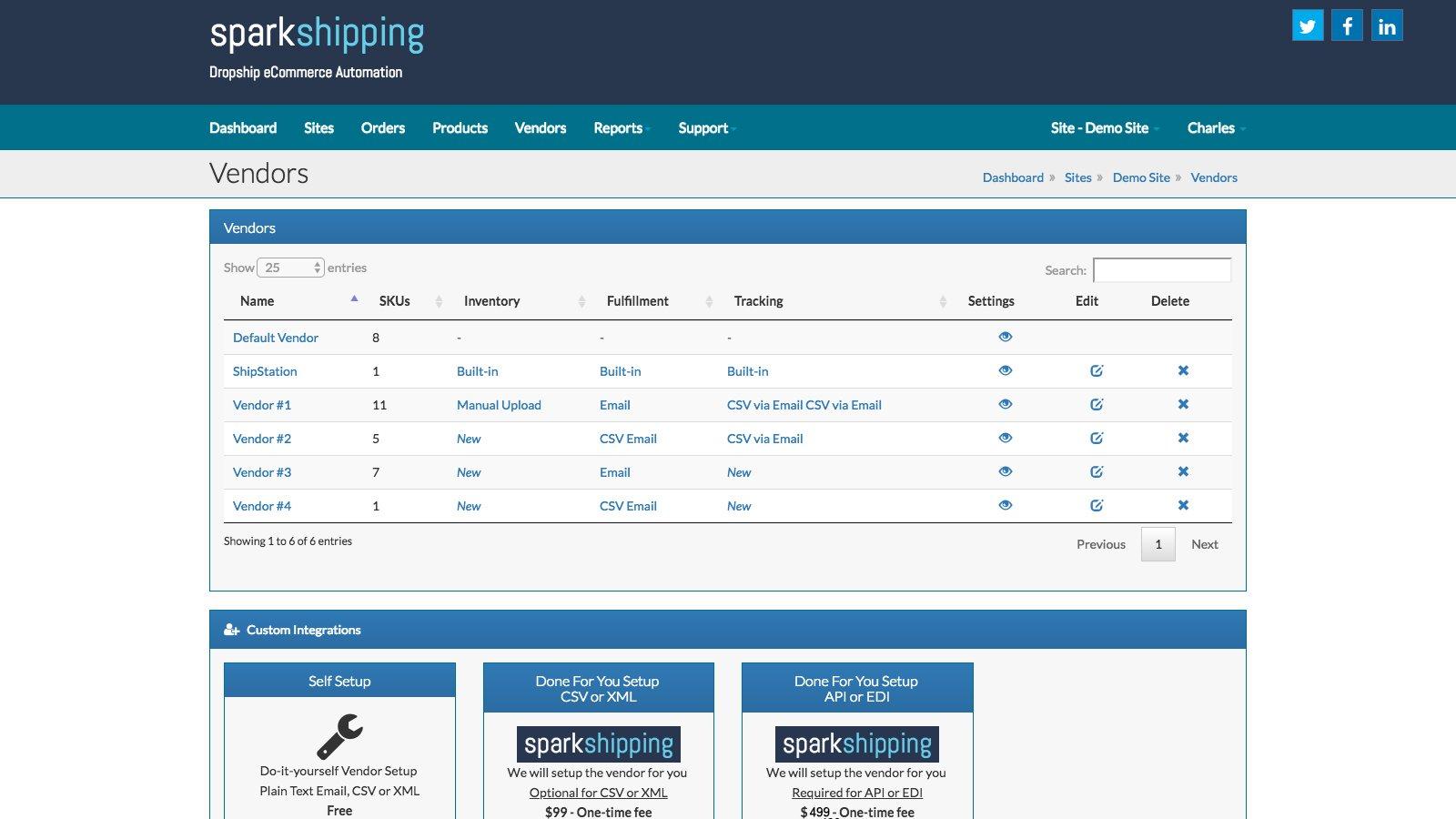 Spark Shipping