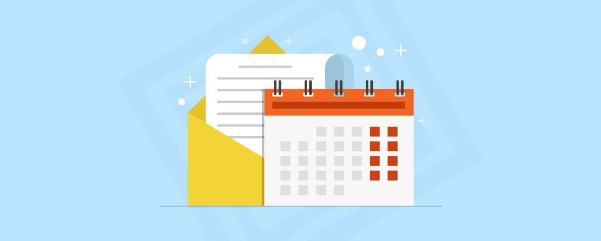 What is an email marketing calendar?