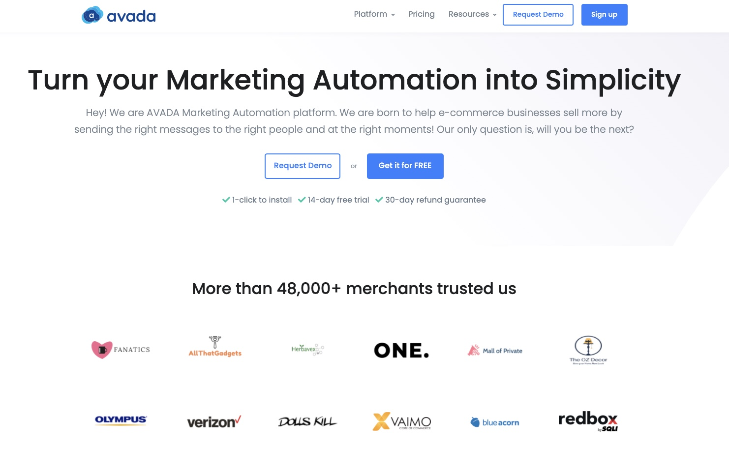 Send Abandoned cart email series with AVADA Email Marketing Automation