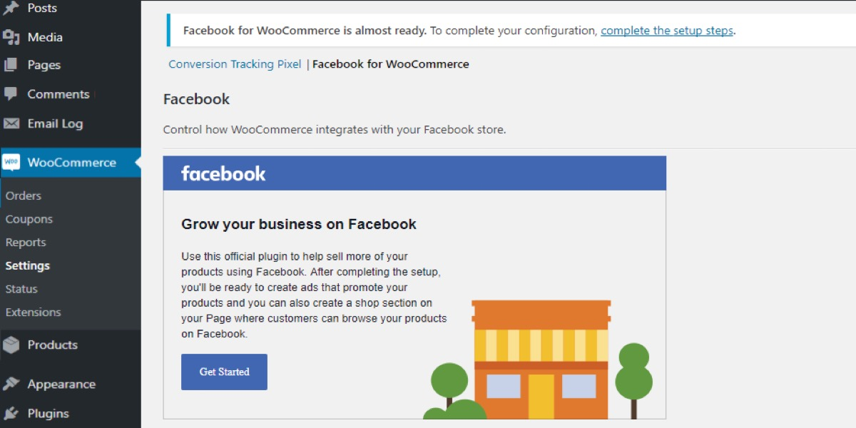 Integrating Facebook Shop with WooCommerce