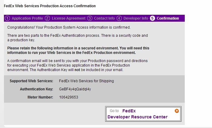 BigCommerce FedEx integration is succeeded