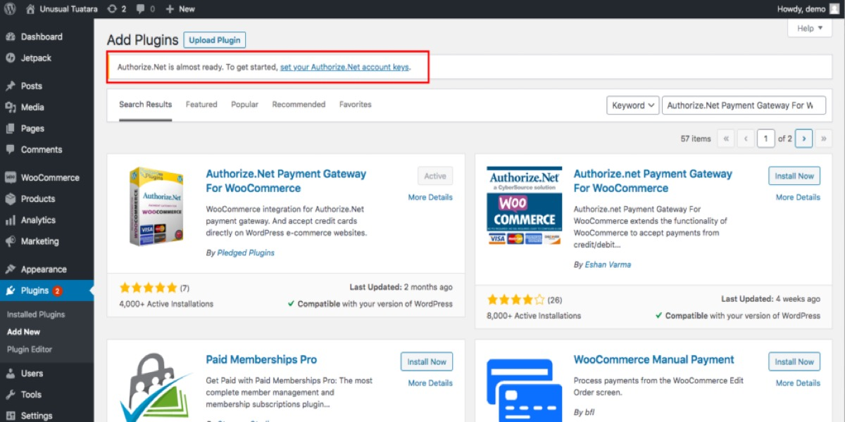 WooCommerce Storefront Theme Overview