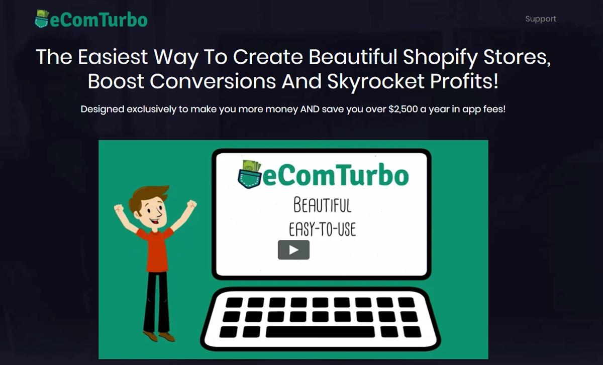 eCom Turbo Theme Review