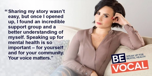 Be Vocal, featuring Demi Lovato