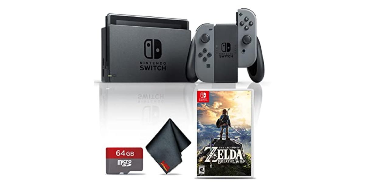 Bundle of Nintendo switch