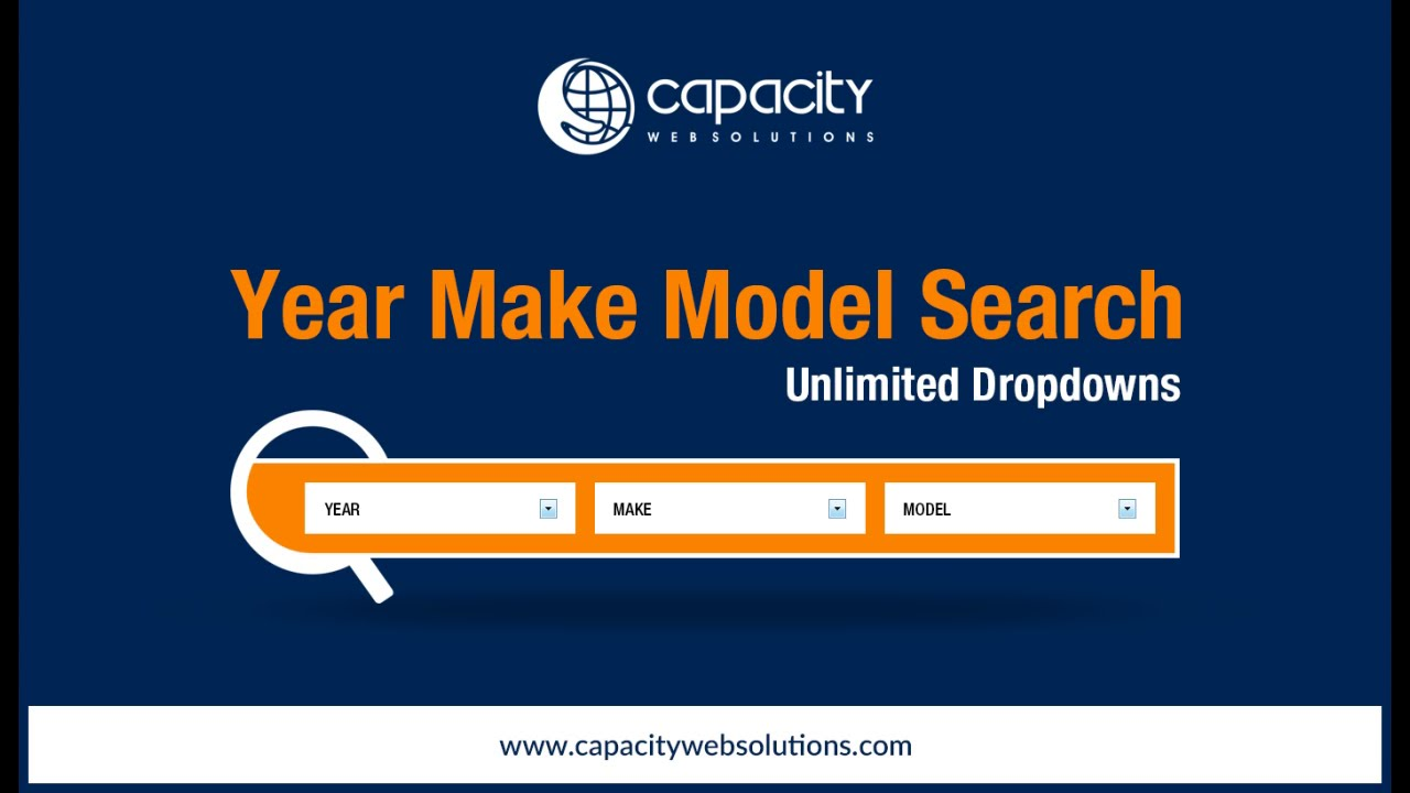 BigCommerce Year Make Model Search