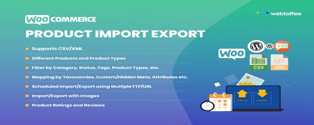 roduct Import Export for WooCommerce