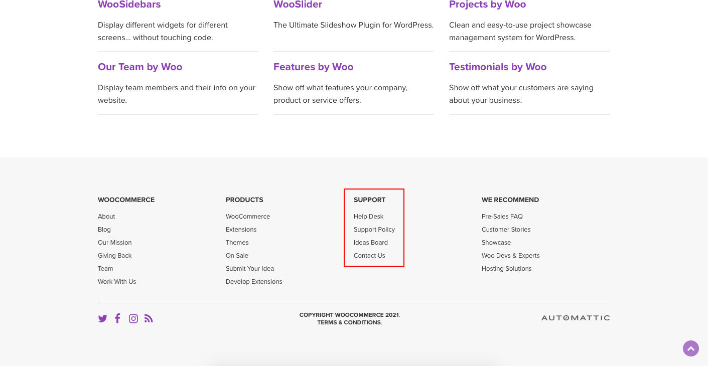 WooCommerce expert support