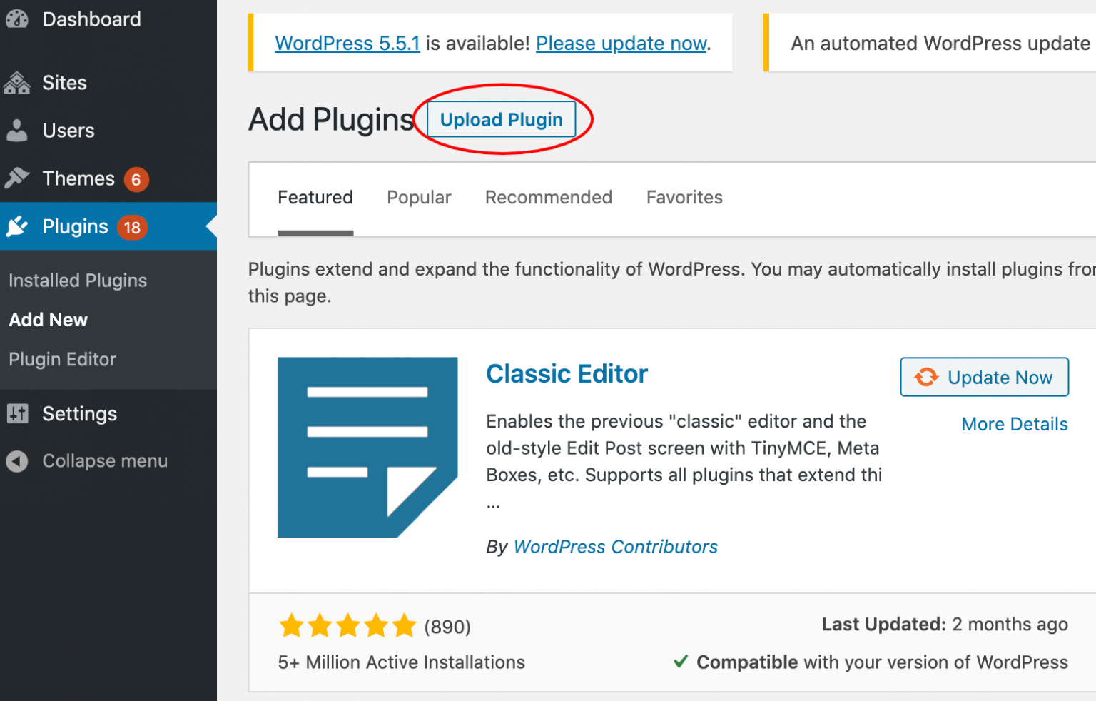 Set up a plugin to enable catalog mode