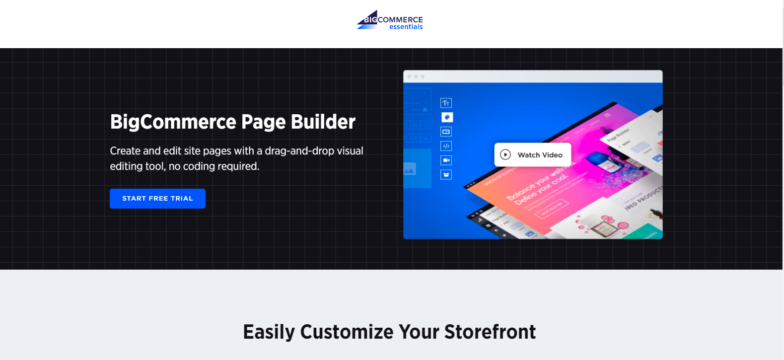 BigCommerce's New Page Builder Tool