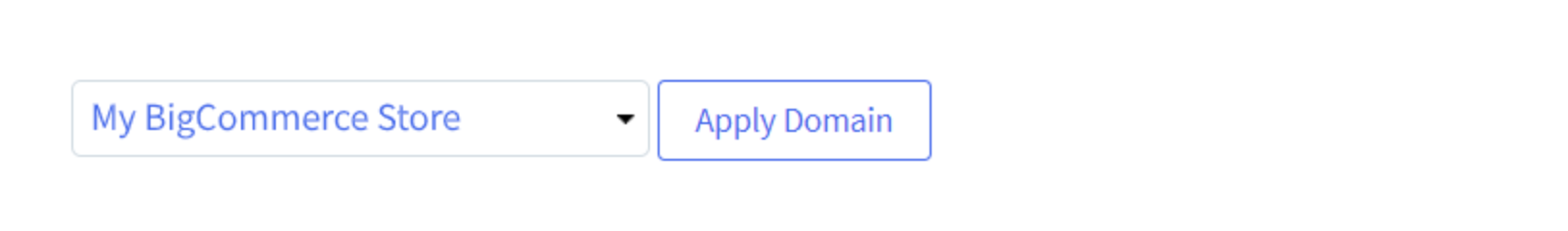 Apply domain
