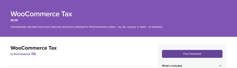 WooCommerce Tax Service