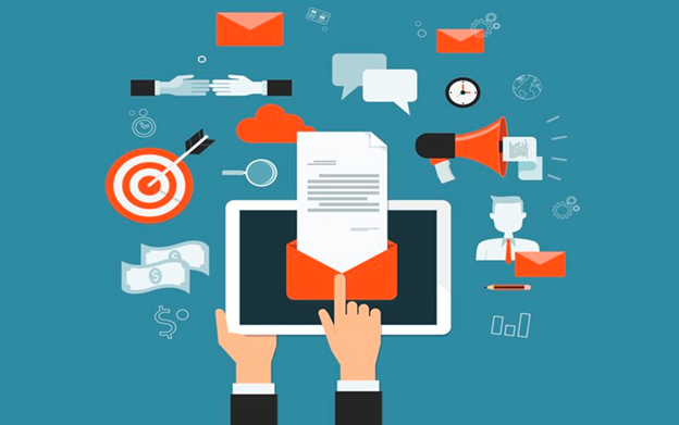 What are the advantages of email newsletters?