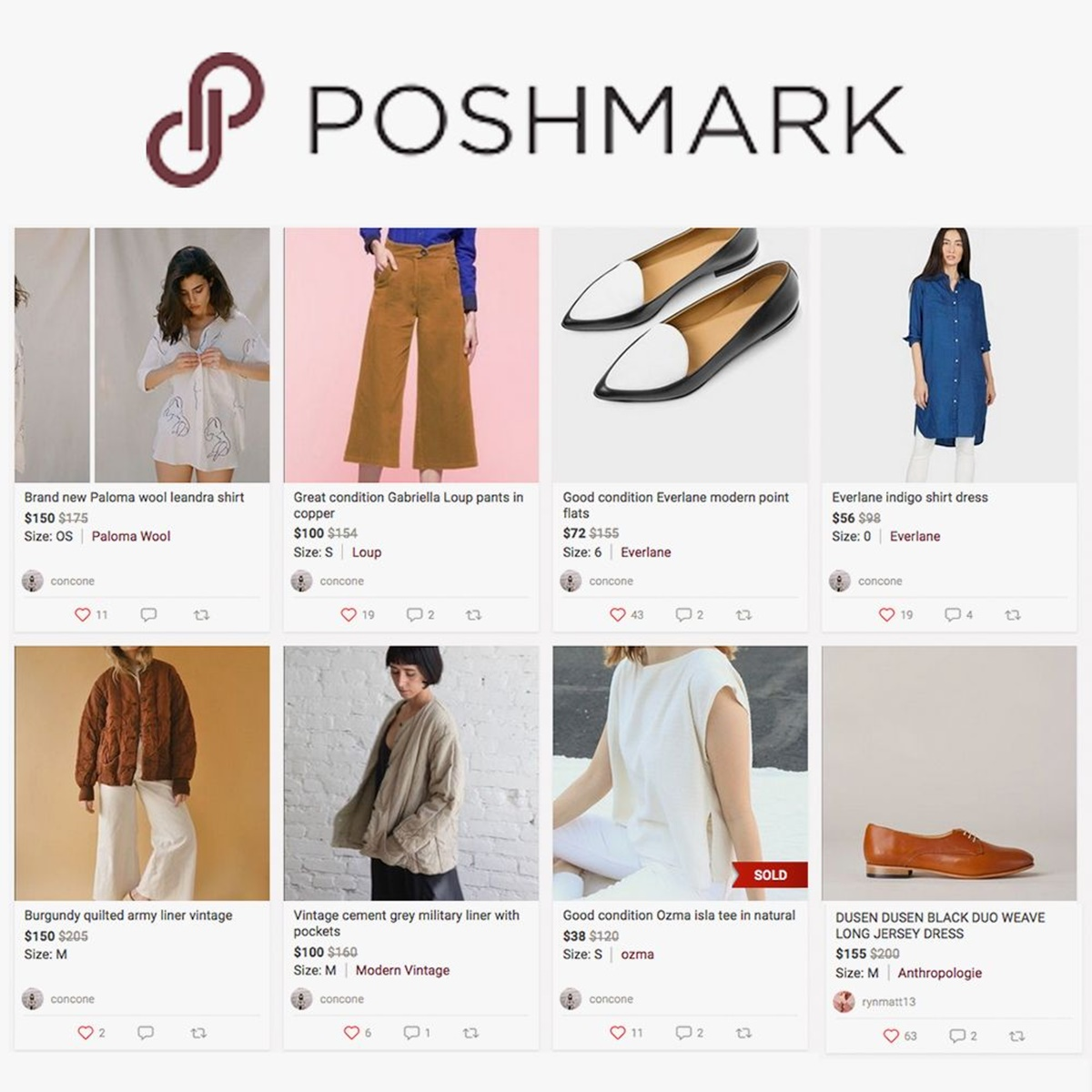 Products on Poshmark