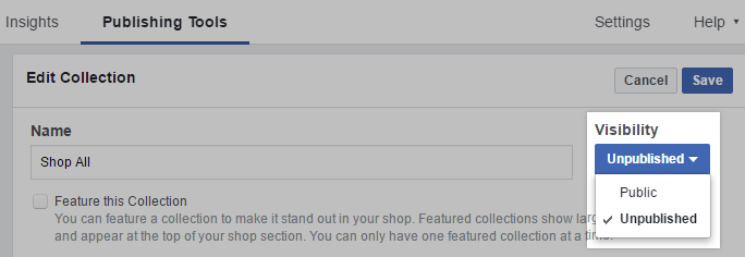Product catalog will begin to be exported to Facebook for approval