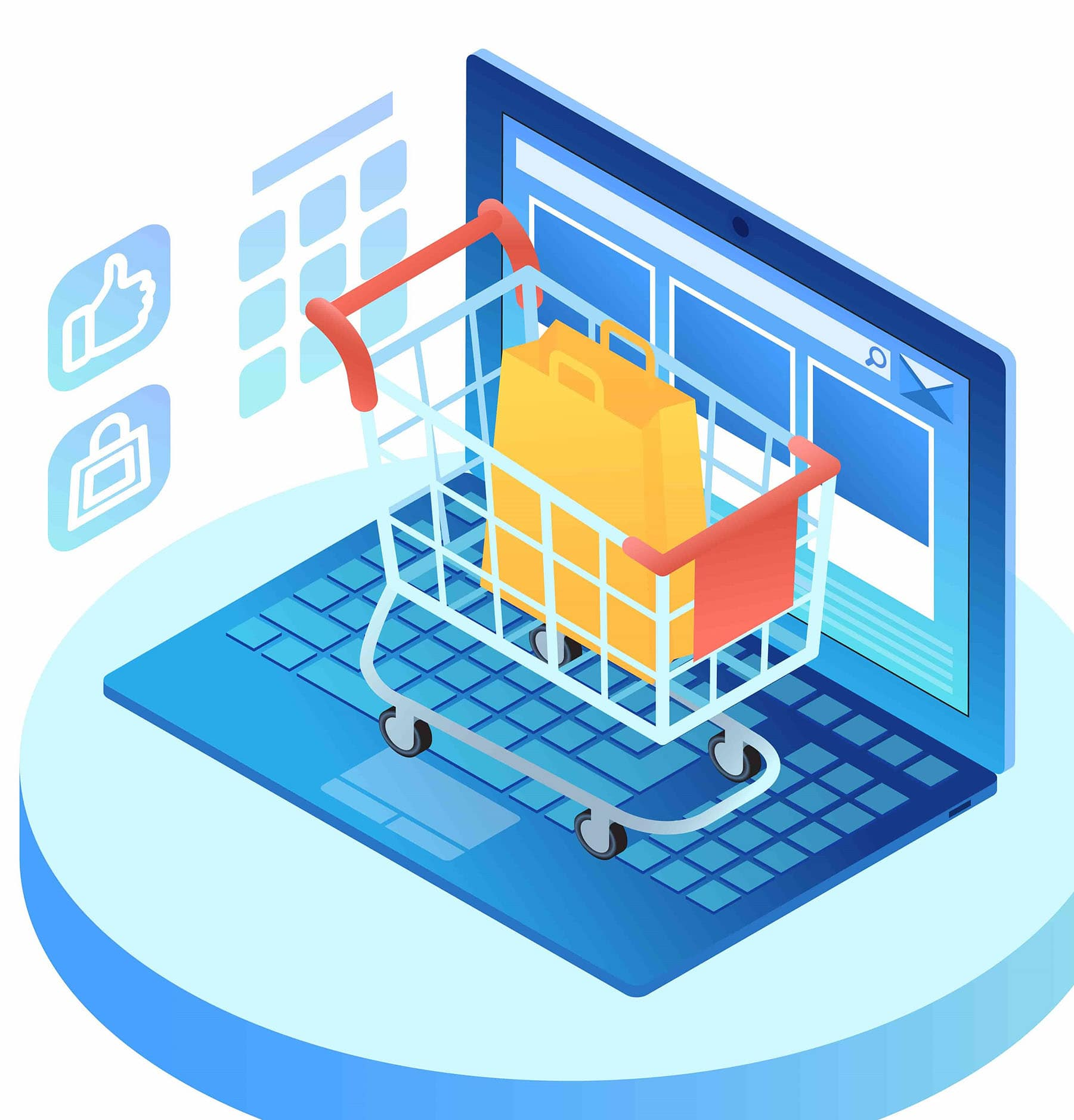 What is E-commerce hosting?