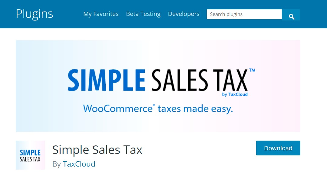 Simple Sales Tax by TaxCloud