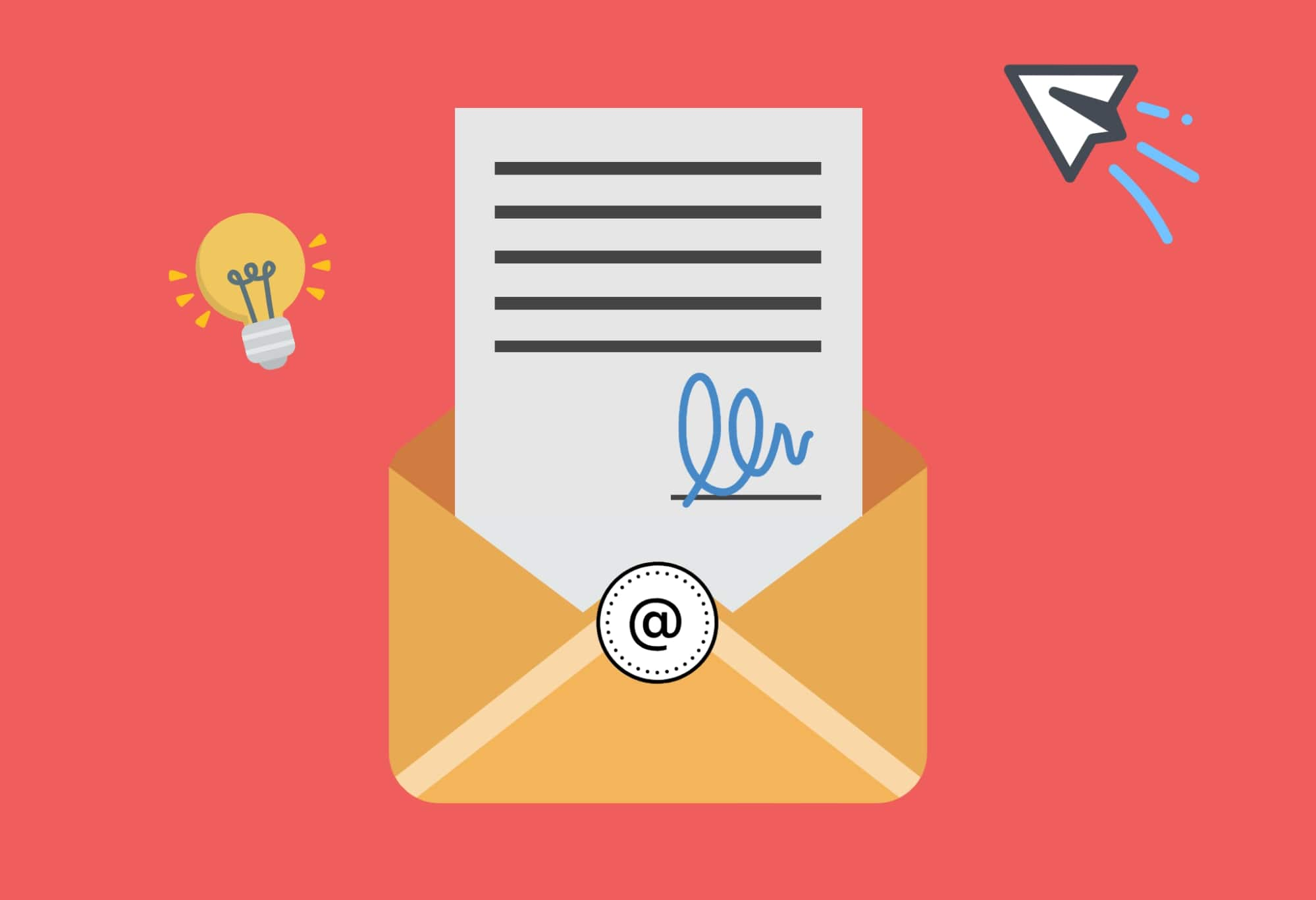 What is an email banner?
