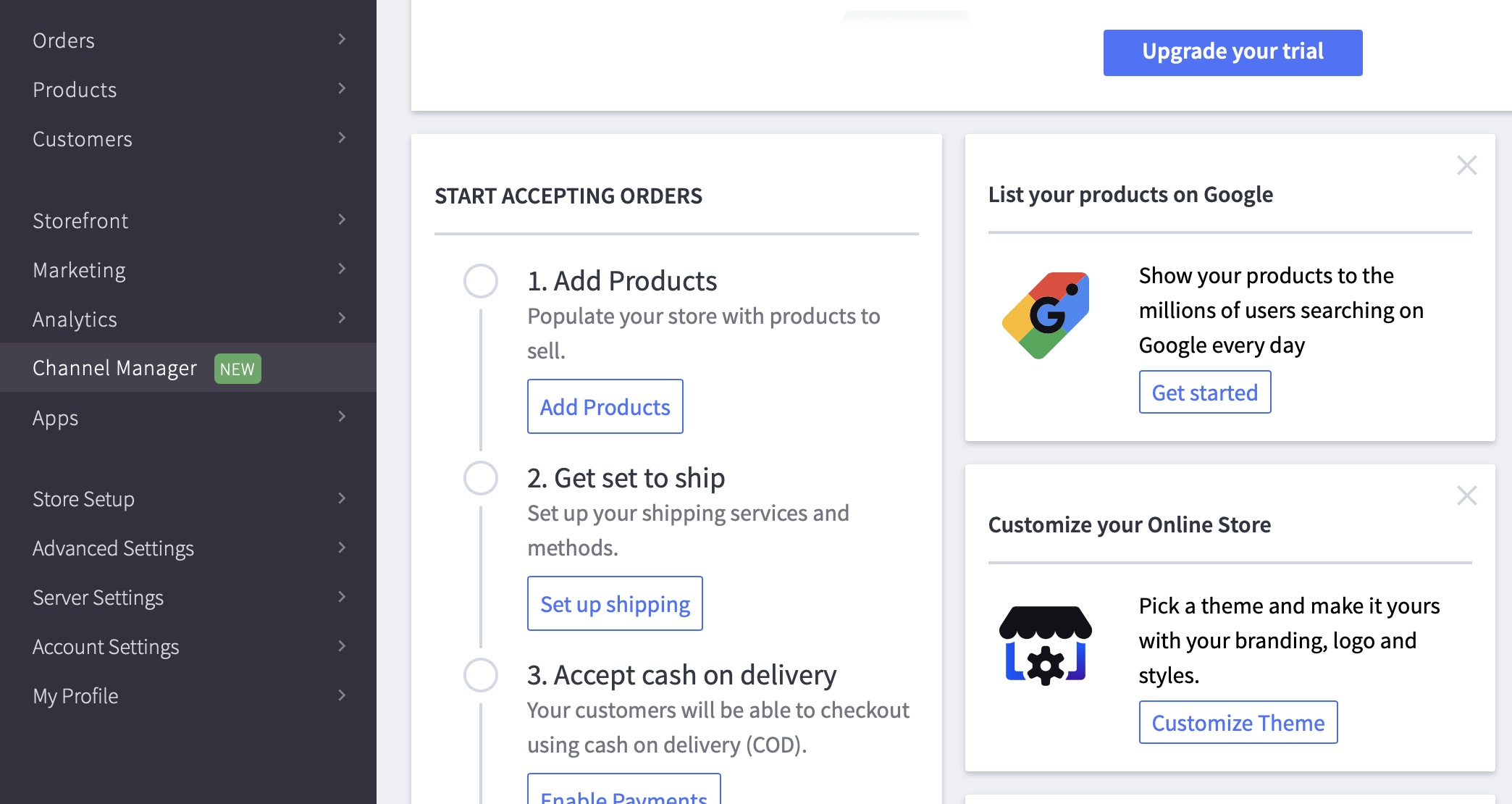 connect BigCommerce with eBay