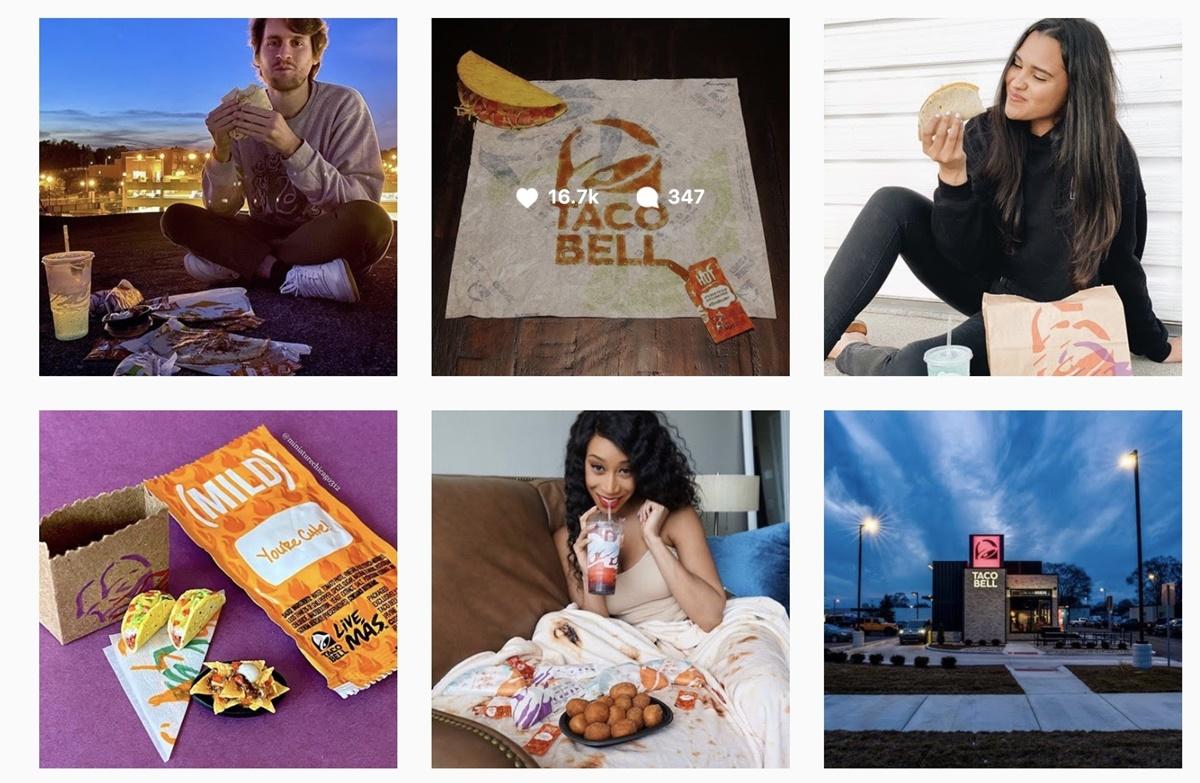 Taco Bell's Instagram