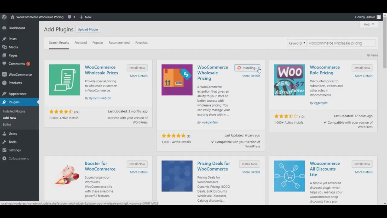 Use Plugins for WooCommerce wholesale selling