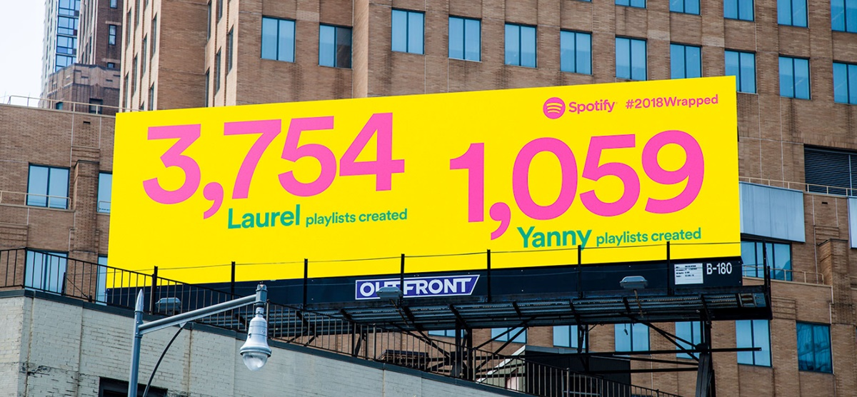 Laurel and Yanny billboard