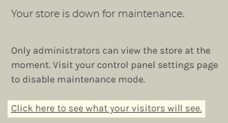 You can know what visitors to your site will see