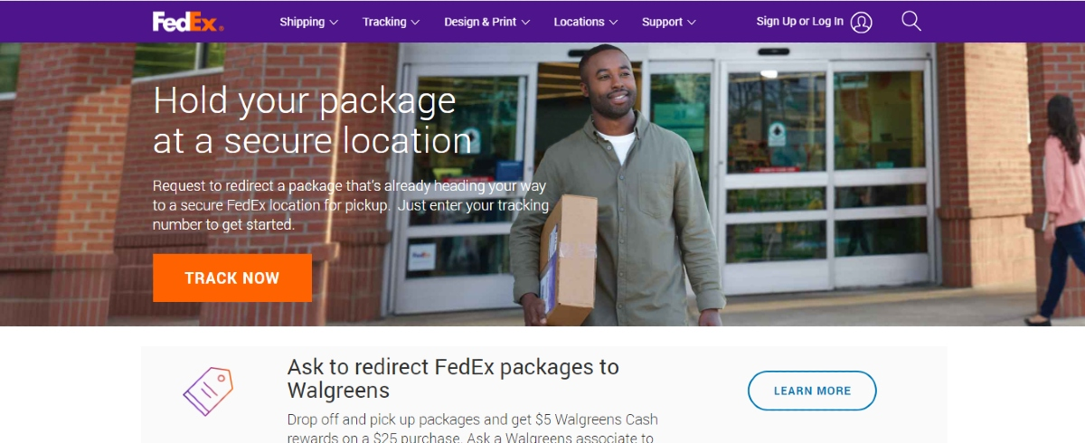 FedEx Hold at Location